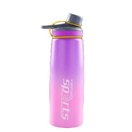 Kraftika Vizes palack 900 ml, sport, 8x25 cm, gradiens keverék