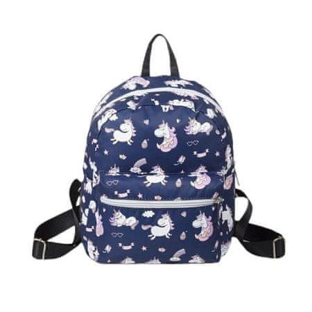Kraftika Ifjúsági hátizsák, villám osztály, külső zseb