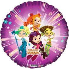 "Flexmetal 5 ks, fóliový balónek 18 ""fairy patrol"", kruh"