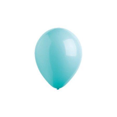 "Kraftika Balon lateksowy 5"", moda, zestaw 100 sztuk, kolor turkusowy"