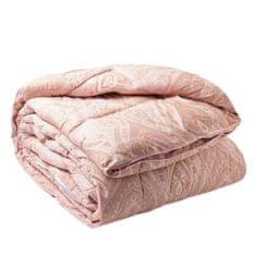 Kraftika Elegance vonal takaró 140x 205 cm, rózsaszín, sovány pihe