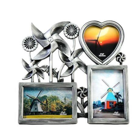 Kraftika Képkeret műanyag 4 fénykép 10x15