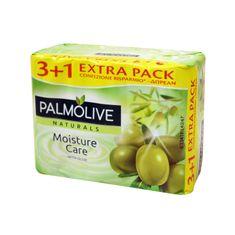 Palmolive Toaletni sapun Naturals Aloe & Olive, 90 g, 3 + 1
