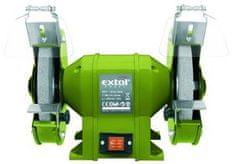 Extol Craft Brúska dvojkotúčová, príkon 350W, priemer kotúča/diery 200/16mm, šírka 20mm