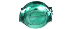 RAUTIS Čočka 6mm - lesk zelená (60 ks)