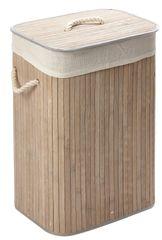Bambusový koš na prádlo obdelníkový