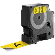 Dymo D1 53718 traka, 24mmx7m, crno / žuta