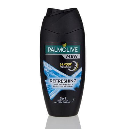 Palmolive Men Refreshing 2u1 šampon i gel za tuširanje, 250 ml