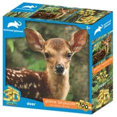 Animal Planet sestavljanka 3D - Bambi, 100 kosov, 31x23 cm