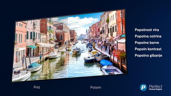 Engine Philips P5, Ultra HD 4K, detalji, kontrast, boje, kretanje