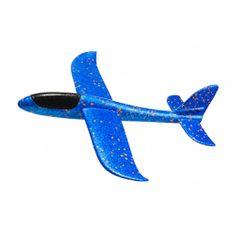 FOXGLIDER Detské hádzací lietadlo - hádzadlá modré 48CM EPP