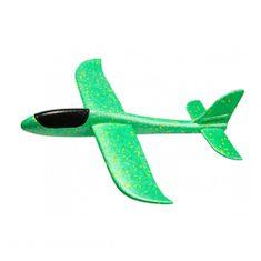 FOXGLIDER Detské hádzací lietadlo - hádzadlá zelené 48CM EPP
