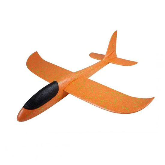 FOXGLIDER Dětské házedlo - házecí letadlo oranžové 48cm EPP