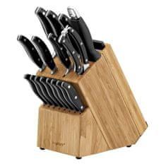 BergHOFF Sada nožů ve stojanu + prkénka TRIVIUM 20 ks
