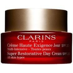 Clarins Omladzujúci denný krém pre všetky typy pleti SPF 20 Super Restorative 50 ml