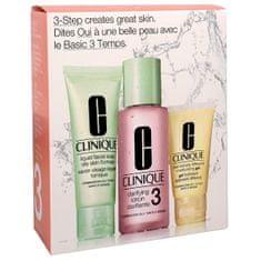 Clinique Čisticí péče pro smíšenou až mastnou pleť (3-Step Introduction Kit Skin Type 3)