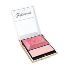 Dermacol Blush & Illuminator arcpirosító fényesítővel8,5 g