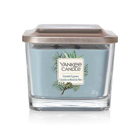 Yankee Candle Aromatična sveča Srednji kvadratni obalni cipres 347 g