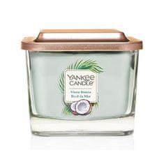 Yankee Candle Aromatická sviečka stredná hranatá Shore Breeze 347 g