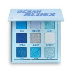 Makeup Obsession Paletka očných tieňov Ocean Blue s (Shadow Palette) 11,7 g