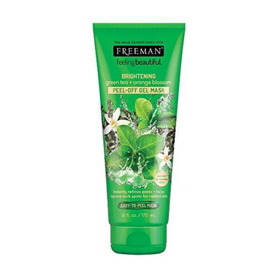 Freeman Slupovací gelová maska Zelený čaj & Pomerančový květ Feeling Beautiful (Peel Off Gel Mask) (Objem 15 ml)