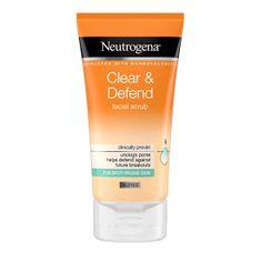 Neutrogena Clear & Defend (Facial Scrub) 150 ml