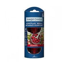 Yankee Candle Náhradná náplň do elektrického difuzéru Organic Kit Red Raspberry 2 x 18,5 ml
