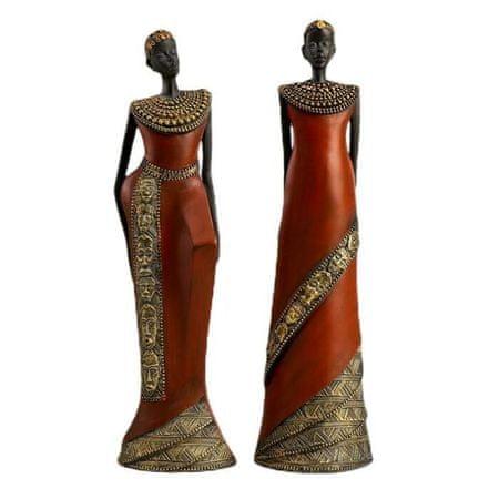 "Kraftika Souvenir polystone ""a samburu törzs nője"