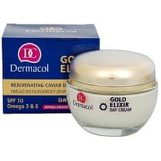 Dermacol Omlazující kaviárový denní krém SPF 10 (Gold Elixir Day Cream) 50 ml