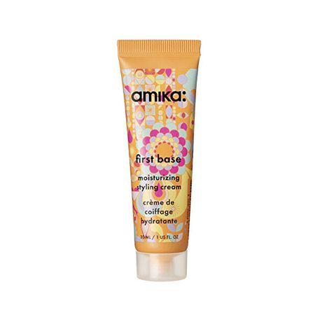 Amika Hidratáló hajformázó krém First Base (Moisturizing Styling Cream) (Mennyiség 200 ml)