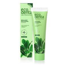 Ecodenta Fehérítő fogkrém mentaolaj és zsálya kivonattal, kalident kalciummal (Whitening Toothpaste) 100 ml
