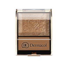 Dermacol Bronzosító szemhéjpúder paletta 9 g