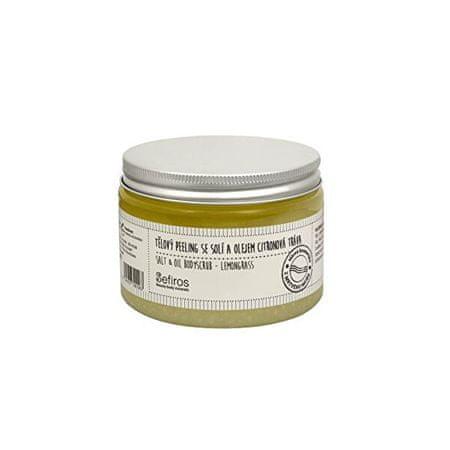 Sefiros (Salt & Oil Bodyscrub) 300 ml testhámlasztó sóval és citromfűolajjal