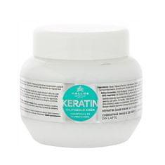 Kallos Regeneračná maska na vlasy s keratínom a mliečnymi proteínmi (Keratin Hair Mask)