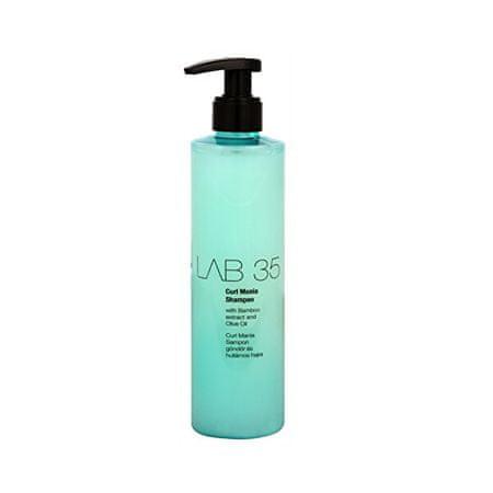 Kallos LAB 35 sampon hullámos és göndör hajra(Curl Shampoo With Bamboo Extract And Olive Oil) 300 ml