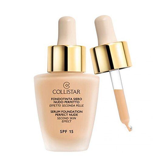 Collistar Tekutý make-up se sérem pro vzhled nahé pleti (Serum Foundation Perfect Nude) 30 ml (Odstín 00 Cameo)