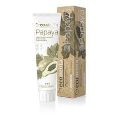 Ecodenta BIO fehérítő fogkrém papaya kivonattal (Certified Organic Whitening Toothpaste) 100 ml