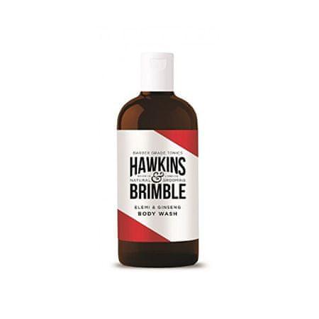 Hawkins & Brimble Hidratáló tusfürdő elemi és ginzeng illattal (Elemi & Ginseng Body Wash) 250 ml