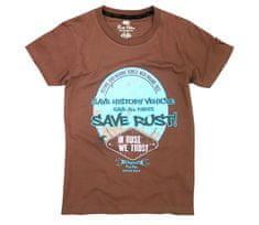 Rusty Pistons dámske tričko RPTSW47 Valrico brown