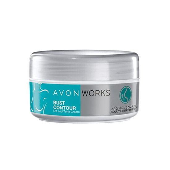Avon Zpevňující liftingový krém na poprsí s argininem Avon Works (Bust Contour) 150 ml