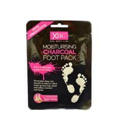 Xpel Hydratačný ponožky s aktívnym uhlím Charcoal Foot Pack 1 pár