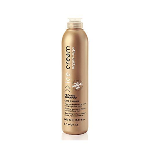 Inebrya Ochranný antioxidační šampon Ice Cream Argan-Age (Pro-Age Shampoo) 300 ml