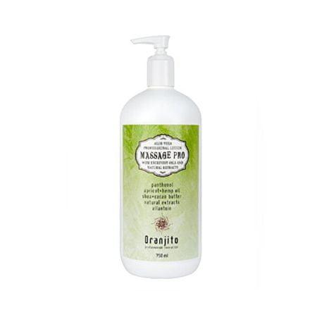 Masszázstej aloe verával (Massage Pro) 750 ml