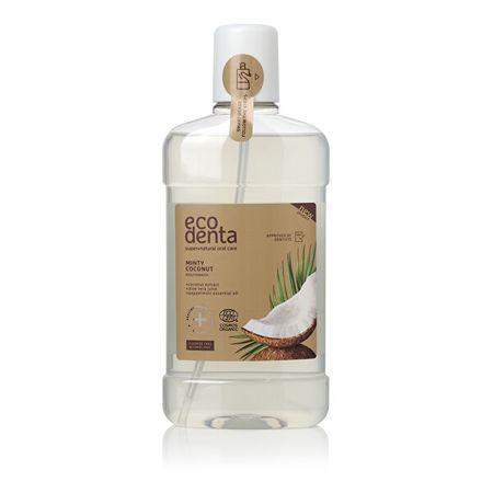 Ecodenta (Minty Coconut Mouthwash) Organiczny (Minty Coconut Mouthwash) 500 ml