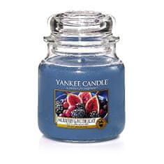 Yankee Candle Vonná svíčka Classic střední Mulberry & Fig Delight 411 g
