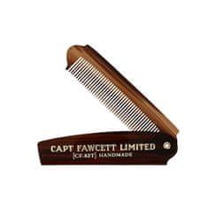 Captain Fawcett Skladacia hrebeň na bradu CF.82