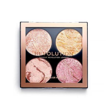 Makeup Revolution Paleta zestawów policzkowych 8,8 g (cień Fresh Perspectiv)