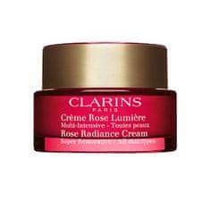 Clarins Denní krém proti vráskám pro všechny typy pleti Super Restorative (Rose Radiance Cream) 50 ml