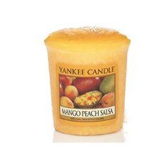 Yankee Candle Aromatická votívny sviečka Mango Peach Salsa 49 g