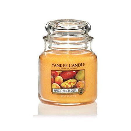 Yankee Candle Aromatična sveča Classic srednje Mango Peach Salsa 411 g